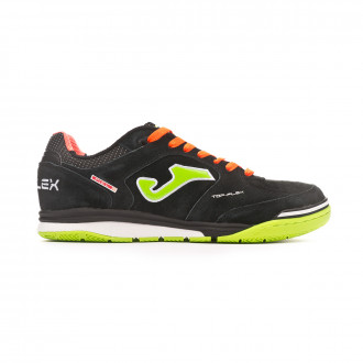 Futsal Boot  Joma Top Flex Nobuck Black-Orange
