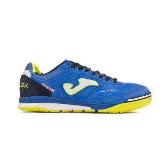 Futsal Boot  Joma Top Flex Nobuck Blue-Lime