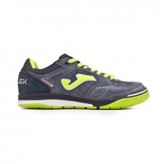 Futsal Boot  Joma Top Flex Nobuck Black-Lime
