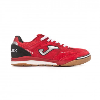 Futsal Boot  Joma Top Flex Nobuck Red