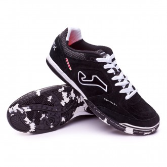 Zapatilla  Joma Top Flex Nobuck Black-White