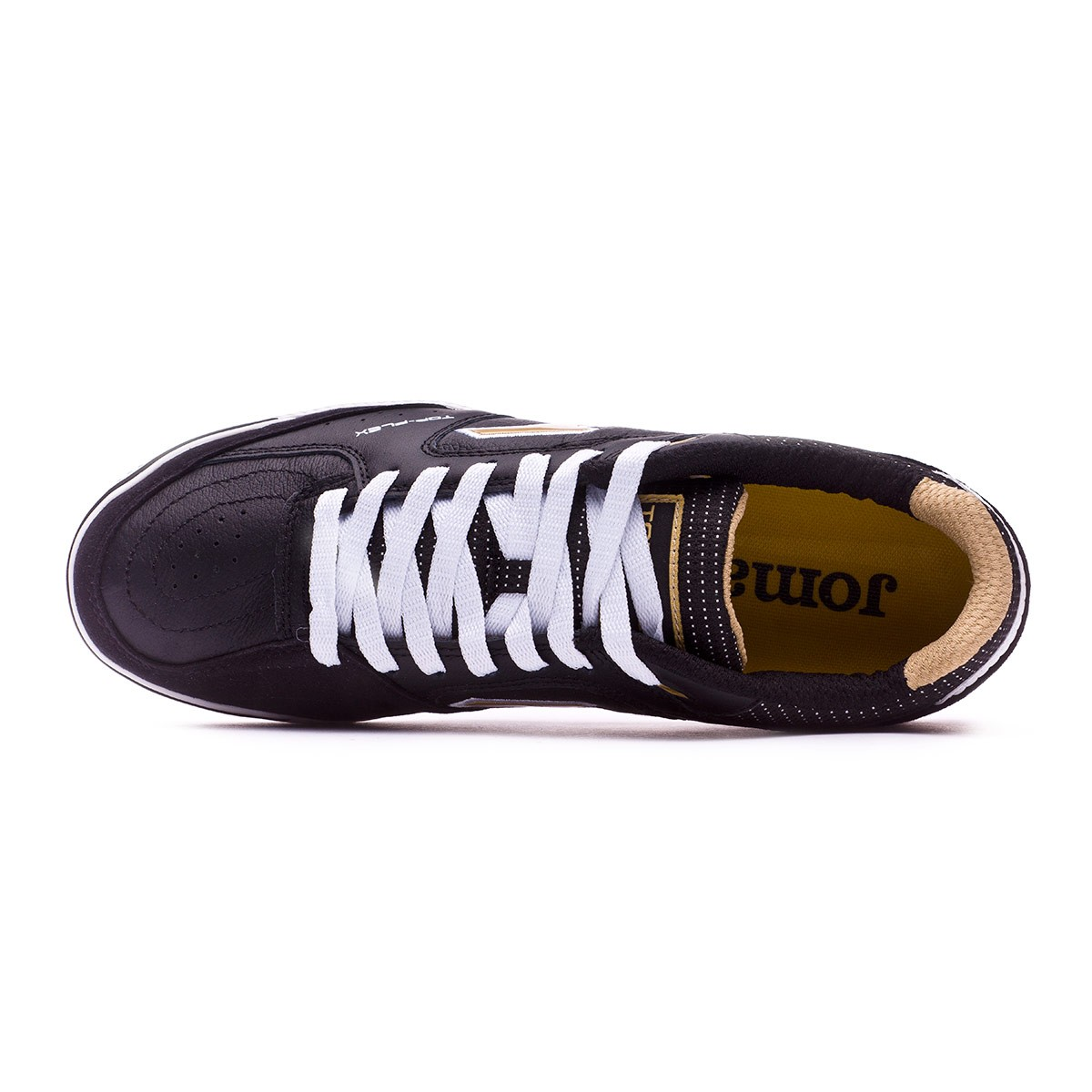 b3b59b9a20 Futsal Boot Joma Top Flex Black-Gold - Tienda de fútbol Fútbol Emotion