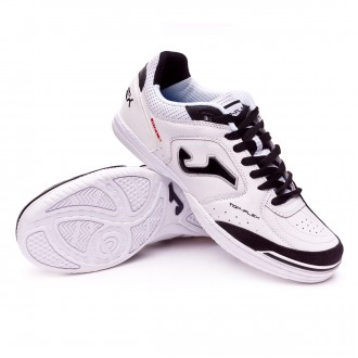 Sapatilha de Futsal  Joma Top Flex White-Black