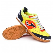 Futsal Boot Top Flex Yellow-Lime-Orange