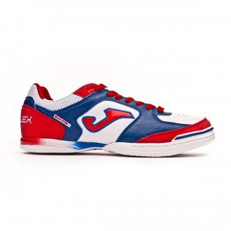 Zapatilla  Joma Top Flex White-Blue-Red