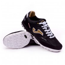 Zapatilla Top Flex Turf Black-Gold