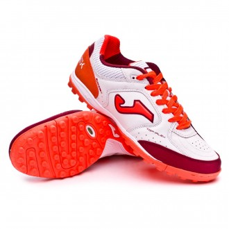 Zapatilla  Joma Top Flex Turf White-Orange