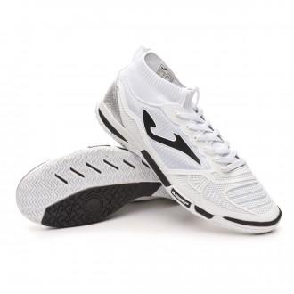 Sapatilha de Futsal  Joma Tactico IN White