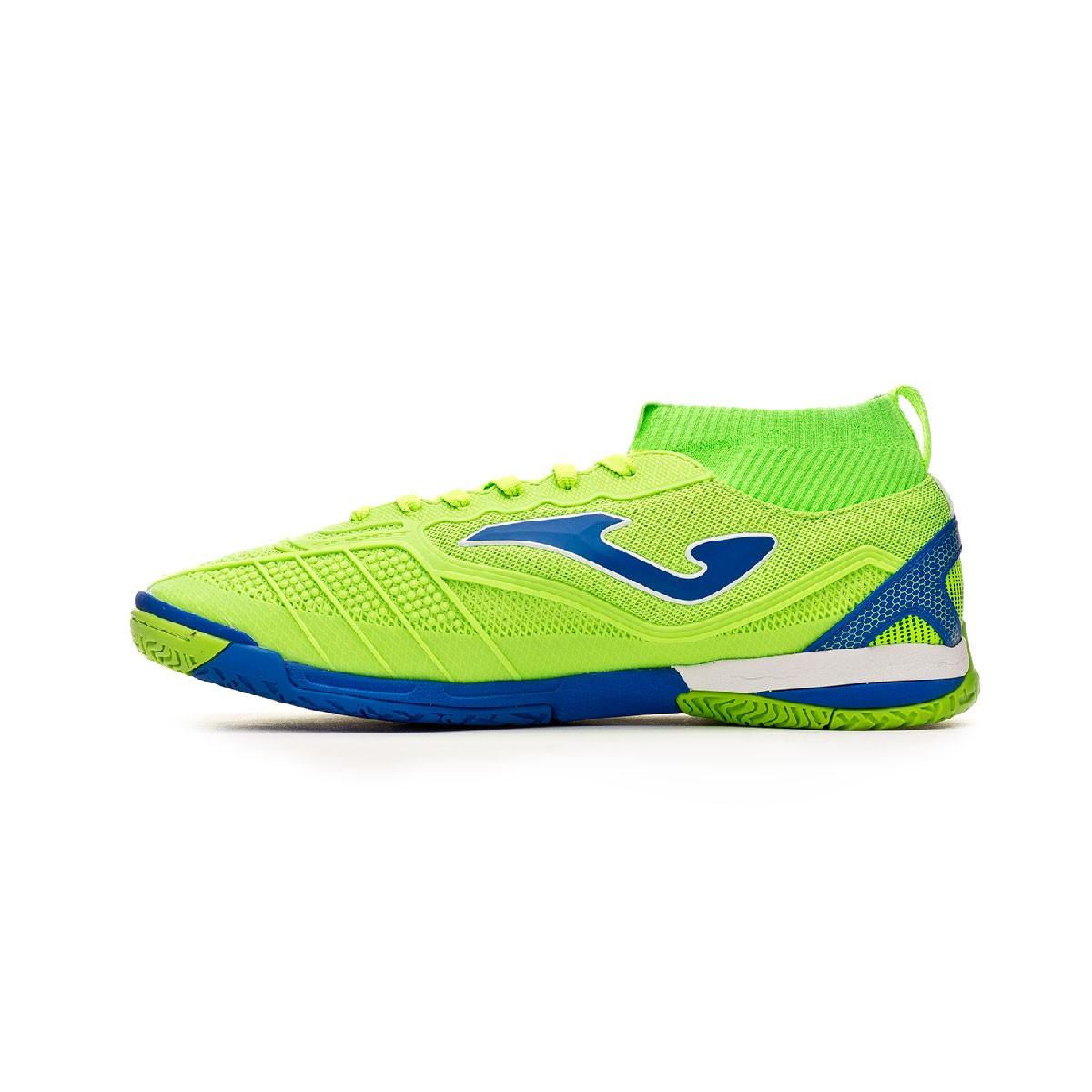 6b460be6d Futsal Boot Joma Tactico IN Green - Football store Fútbol Emotion