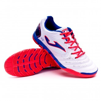 Futsal Boot  Joma Liga 5 White-Red