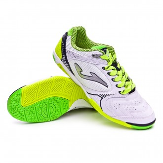 Zapatilla  Joma Dribling White-Yellow