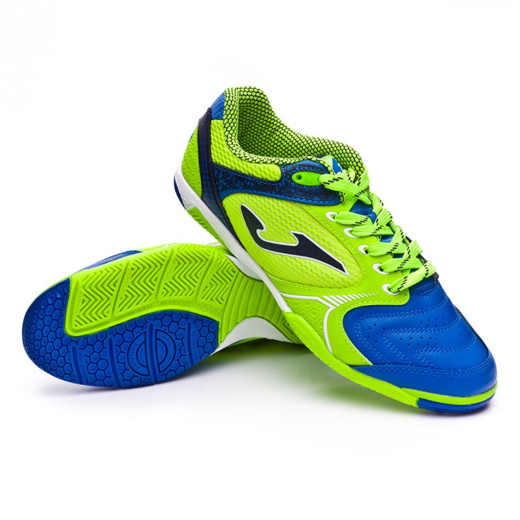 Zapatilla Joma Dribling Green-Blue - Soloporteros es ahora Fútbol ... b5e4440073929