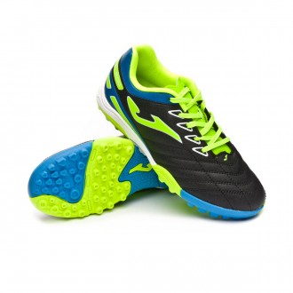 Scarpe  Joma Toledo Turf Junior Black-Lime