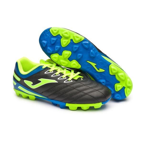 Boot Joma Toledo Niño Black-Lime - Leaked soccer fe70c59030619