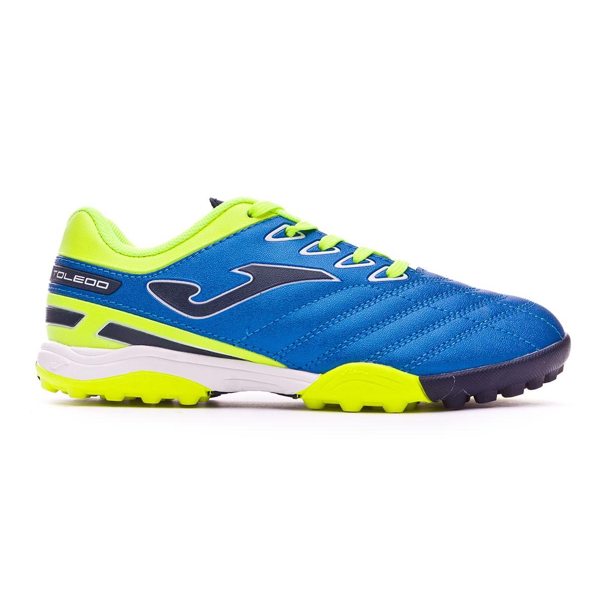 ... Zapatilla Toledo Turf Niño Blue-Lima. CATEGORY. Football boots · Joma  Boots 7a7472f36b846