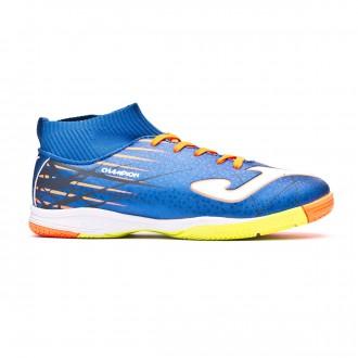 Futsal Boot  Joma Kids Champion IN Blue-Orange