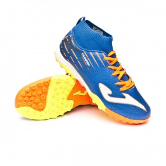 Football Boot  Joma Kids Champion Turf Blue-Orange
