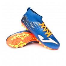 Football Boots Kids Champion AG Blue-Orange