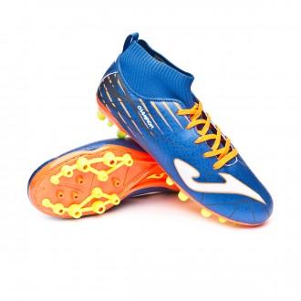 Bota  Joma Champion AG Niño Blue-Orange