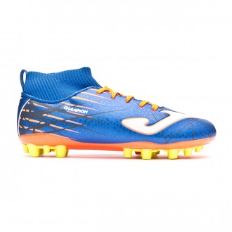 Football Boots  Joma Kids Champion AG Blue-Orange