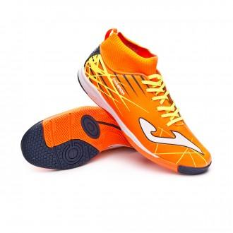 Futsal Boot  Joma Champion IN Niño Orange-Yellow