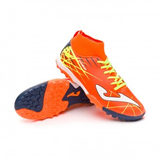 Football Boot  Joma Kids Champion Turf Orange-Yellow