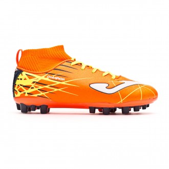 Football Boots  Joma Kids Champion AG Orange-Yellow