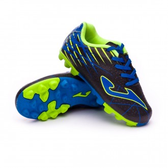 Scarpe   Joma Champion AG Junior Black-Blue-Yellow