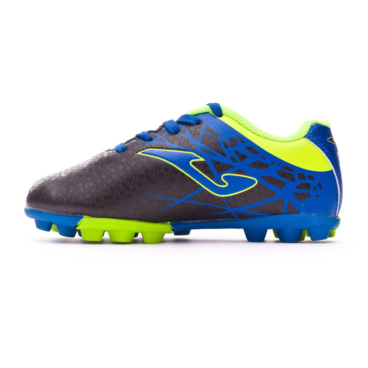6150992a8f800 Football Boots Joma Kids Champion AG Black-Blue-Yellow - Tienda de fútbol  Fútbol Emotion