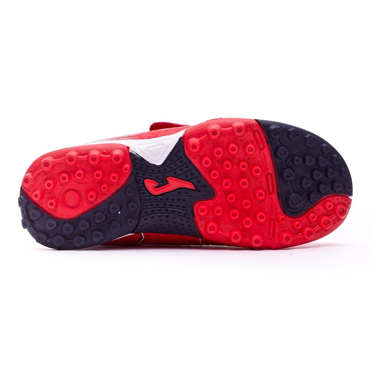 Zapatilla Joma Tactil Turf Velcro Niño Red-White - Soloporteros es ... 4017db9a67444
