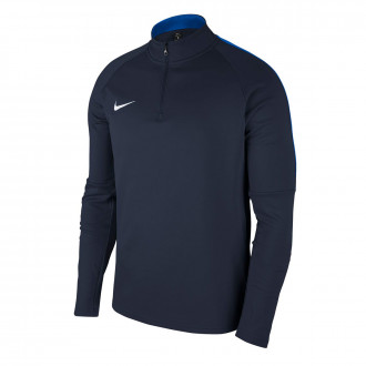Sudadera  Nike Dry Academy 18 Dril Niño Obsidian-Royal blue-White