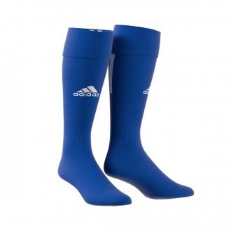 Football Socks  adidas Santos 18 Bold blue-White