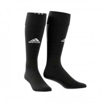 Football Socks  adidas Santos 18 Black-White