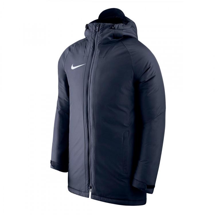 cf0c7c8753 Chaquetón Nike Dry Academy 18 SDF Obsidian-White - Soloporteros es ...