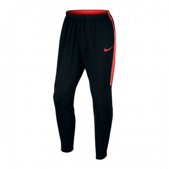Pantalón largo  Nike Dry Academy Black-Light crimson