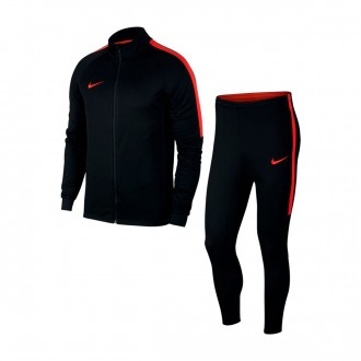 Tracksuit  Nike Dry Academy Black-Light crimson