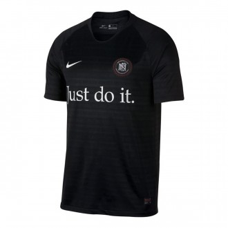 Camisola  Nike Nike F.C. Away Black-White