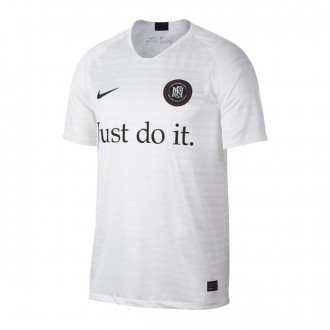 Camisola  Nike Nike F.C. Away White-Black