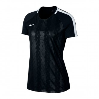 Jersey  Nike Dry Academy Football Mujer Black-White