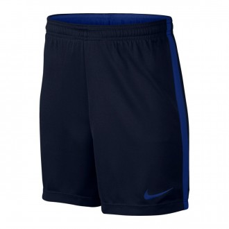 Pantalón corto  Nike Dry Academy Football Niño Obsidian-Hyper royal