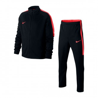 Tracksuit  Nike Kids Dry Academy  Black-Light crimson