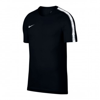 Camisola  Nike Breathe Squad Niño Black-White