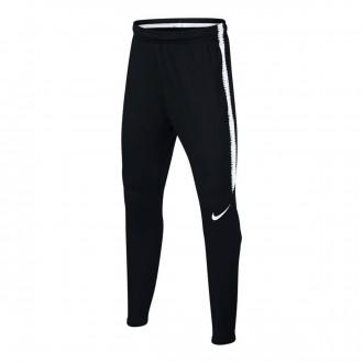 Pantalón largo  Nike Dry Squad Niño Black-White