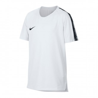 Jersey  Nike Breathe Squad Niño White-Black