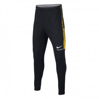 Pantalón largo  Nike Dry Neymar Academy Niño Black-White