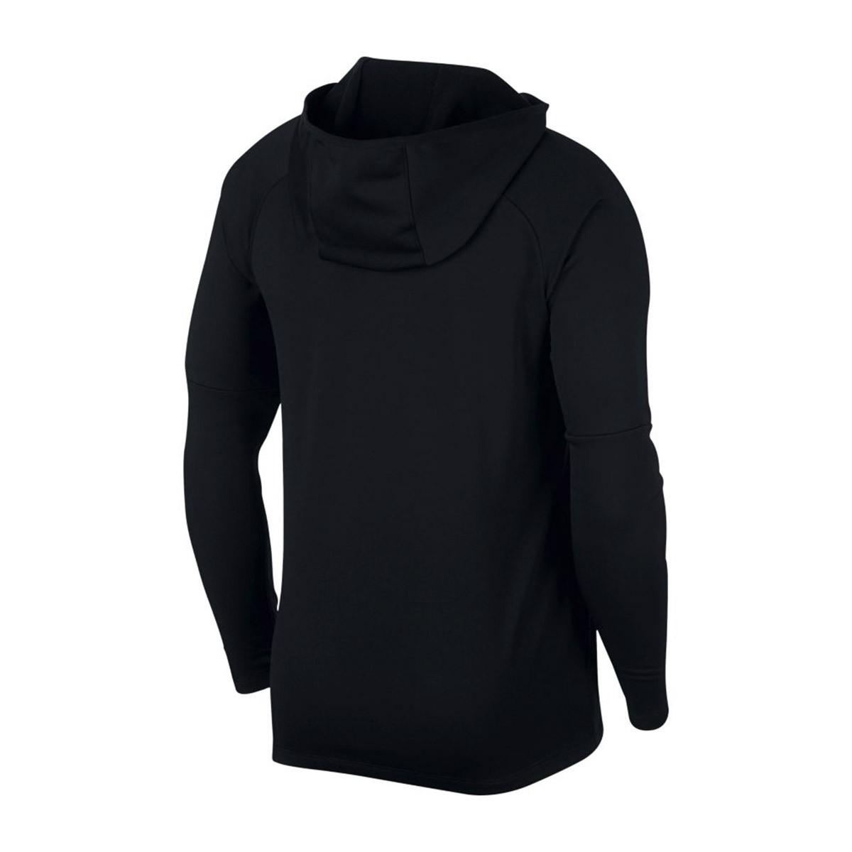 cfc899652 Sweatshirt Nike Dry Academy Hoodie Niño Black - Tienda de fútbol ...