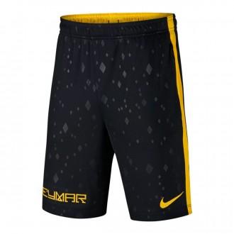 Pantalón corto  Nike Dry Neymar Academy Niño Black-Yellow
