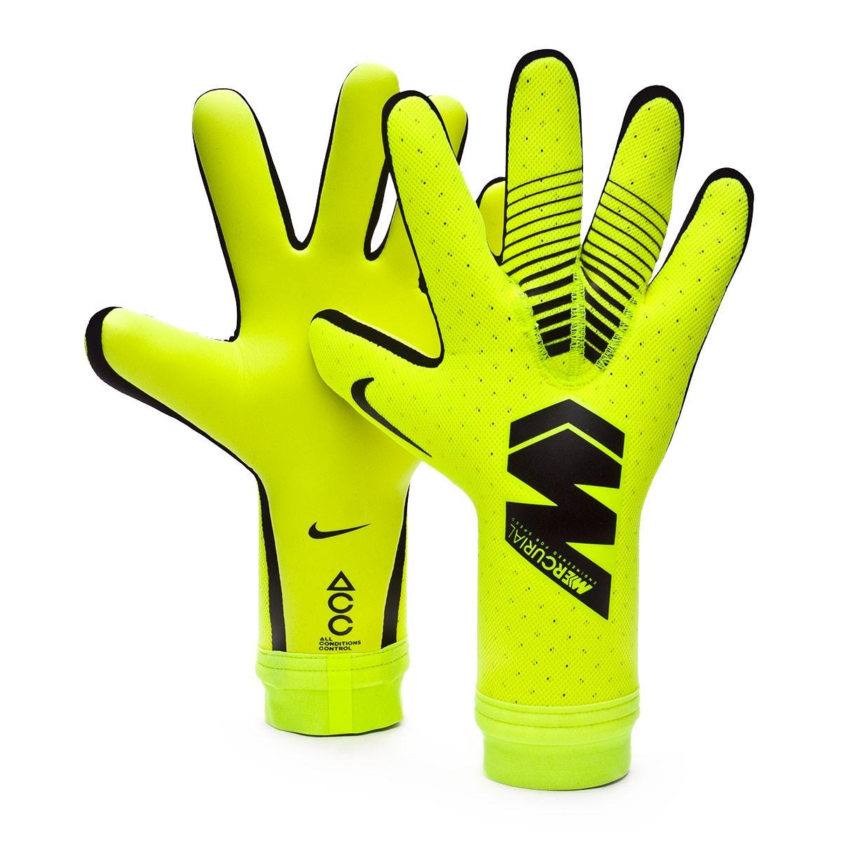 Luvas Nike Mercurial Touch Elite Volt-Black - Loja de ...
