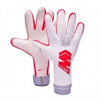 Glove  Nike Mercurial Touch Pro Pure platinum-Light crimson