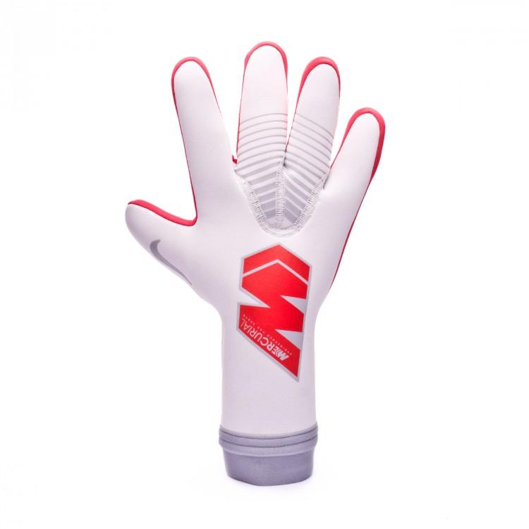 calina Llevando amenaza  Guante de portero Nike Mercurial Touch Victory Pure platinum-Light crimson  - Tienda de fútbol Fútbol Emotion